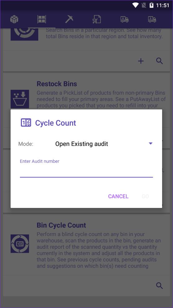 sellercloud skustack mode open existing audit