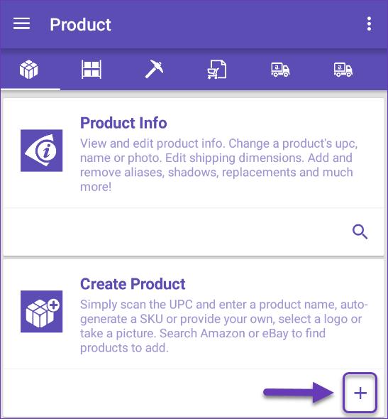 Create product module